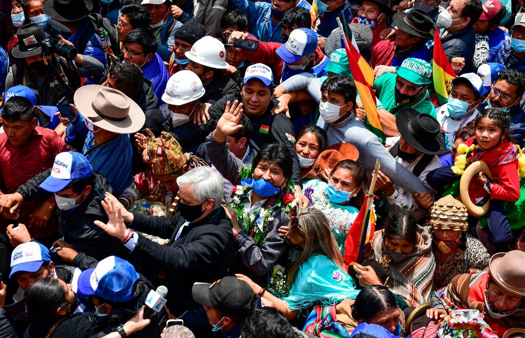 Evo Morales vuelve a Bolivia tras un año de exilio