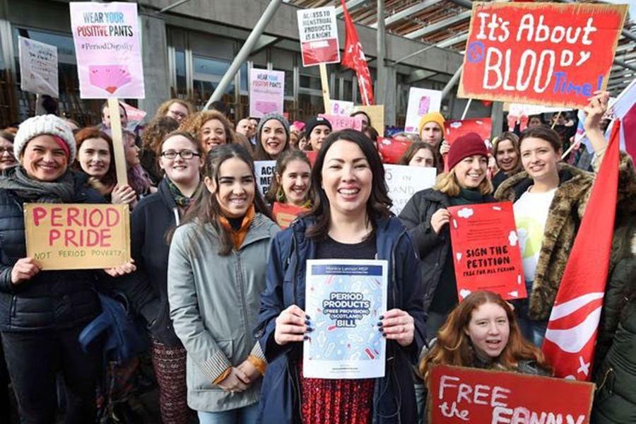 Escocia se convierte en el primer país del mundo en ofrecer productos menstruales gratis