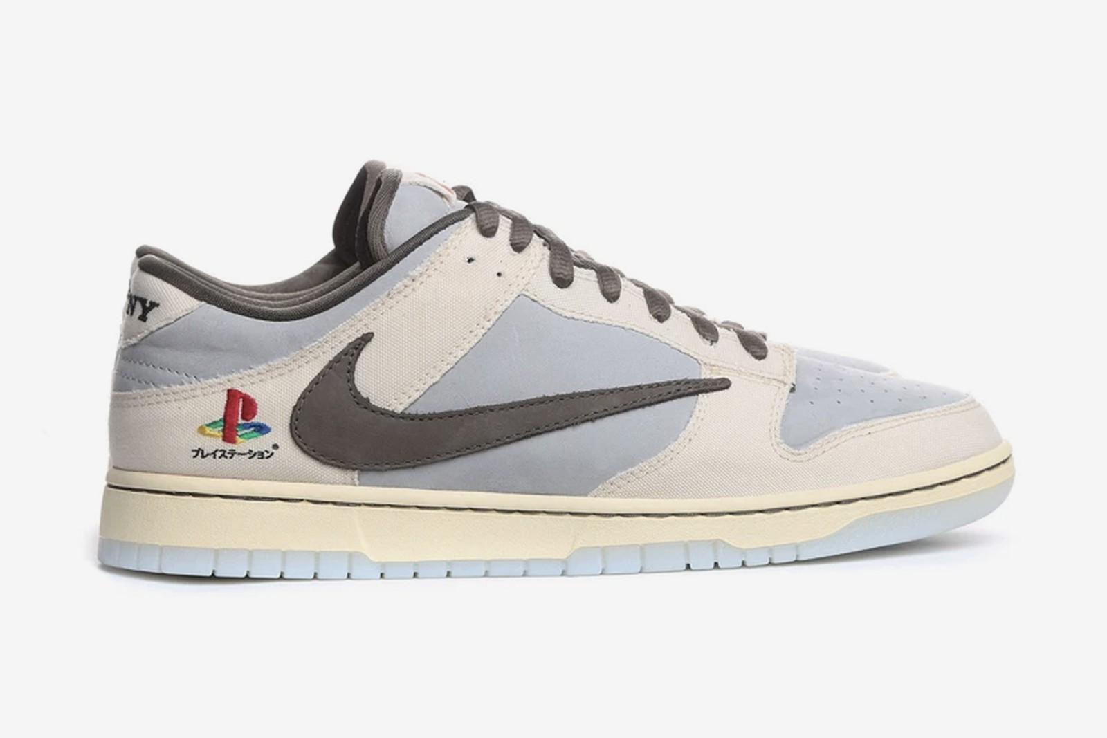 "Travis Scott lanza las zapatillas ""Dunk Low"" en colaboración con Nike y Playstation"