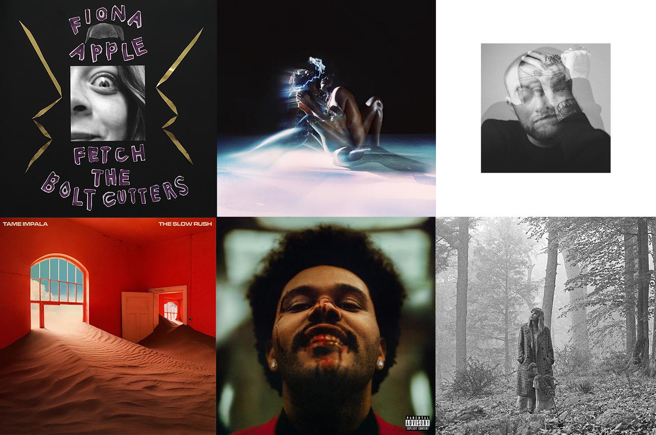 Los 30 mejores albums del 2020