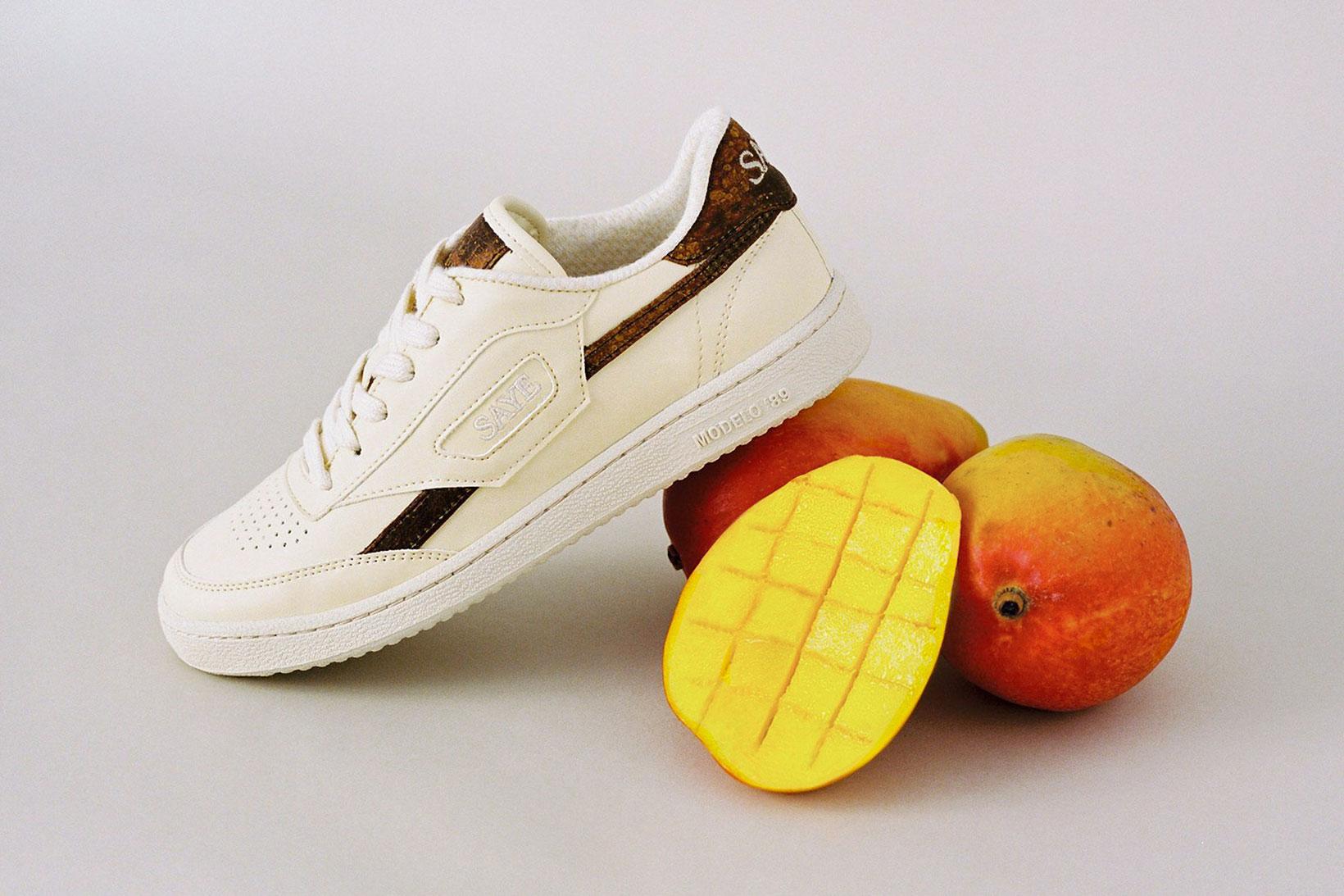 SAYE lanzó estas nuevas zapatillas ecológicas hechas de mangos reciclados