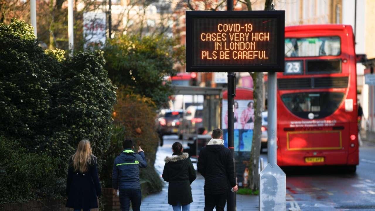 Coronavirus: Reino Unido en cuarentena estricta hasta febrero; Chile aumentará capacidad de camas