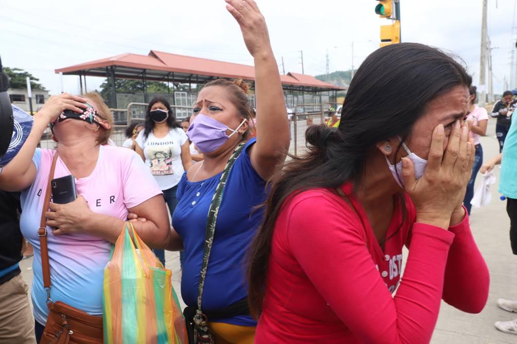 Ecuador: 79 fallecidos hasta ahora dejan motines simultáneos en varias cárceles del país