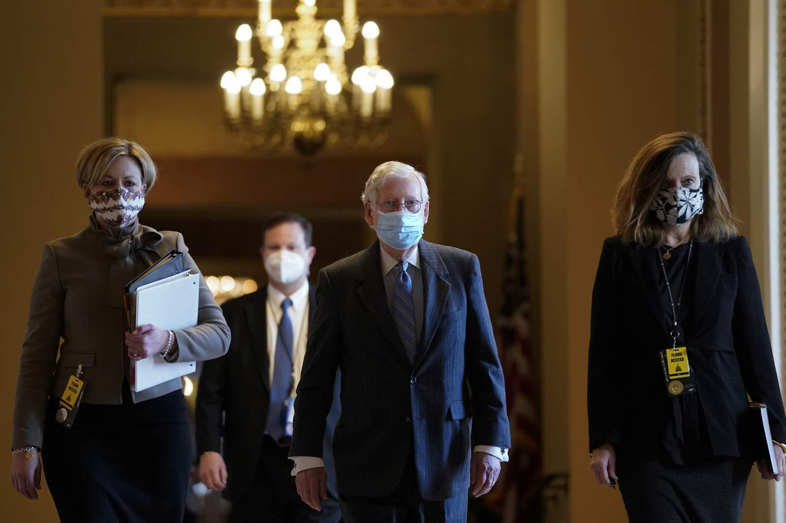 EE.UU.: Senado votó para proceder con el segundo impeachment a Donald Trump