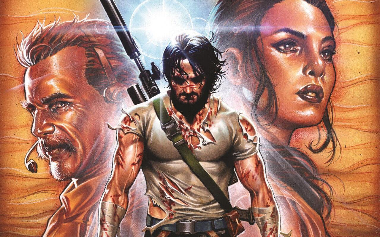 """El polémico cómic de Keanu Reeves """"BRZRKR"""" se convertirá en una película de Netflix"""