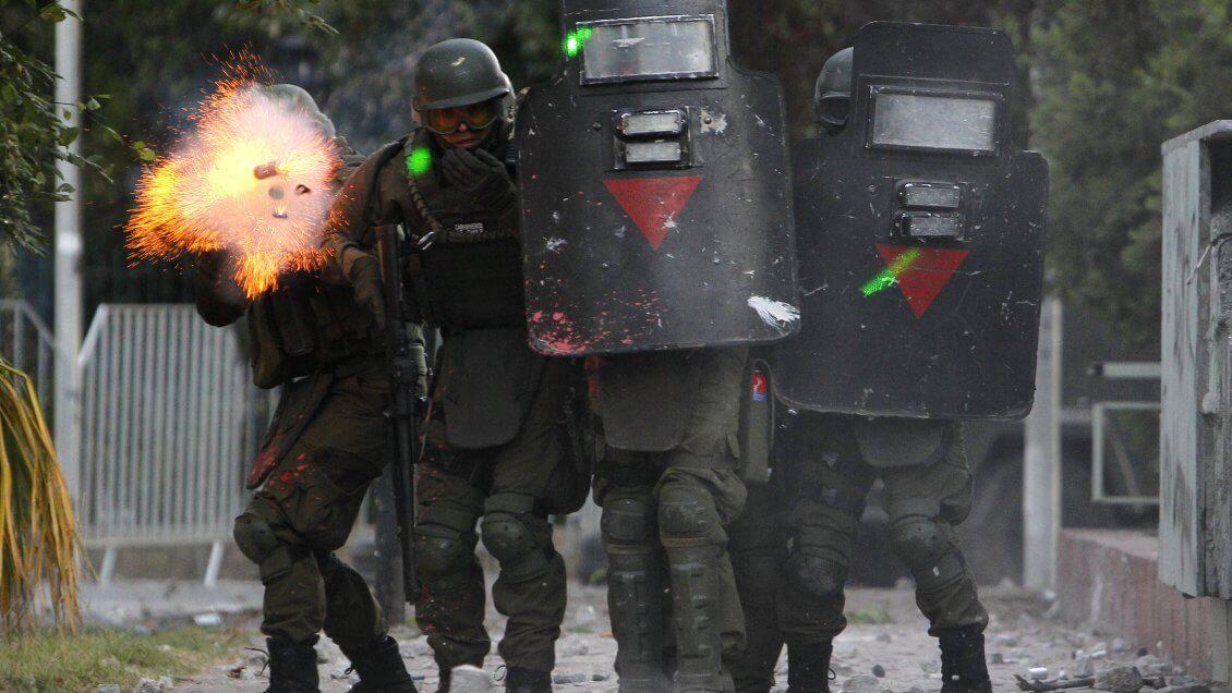 Chile: Sentencian a 61 días de presidio menor a carabinero por pérdida de ojo de estudiante en 2017