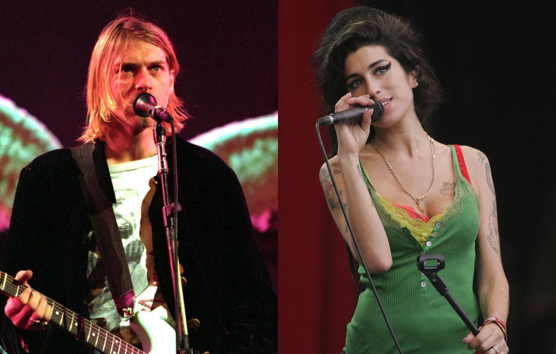 Esta IA hizo nuevas canciones de Kurt Cobain y Amy Winehouse
