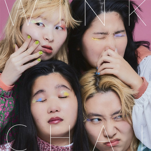 "Portada del álbum ""Wink"" de CHAI."