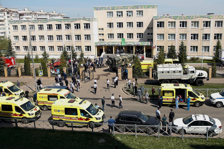 Rusia: 7 estudiantes y 2 empleadas son asesinados durante un tiroteo en una escuela