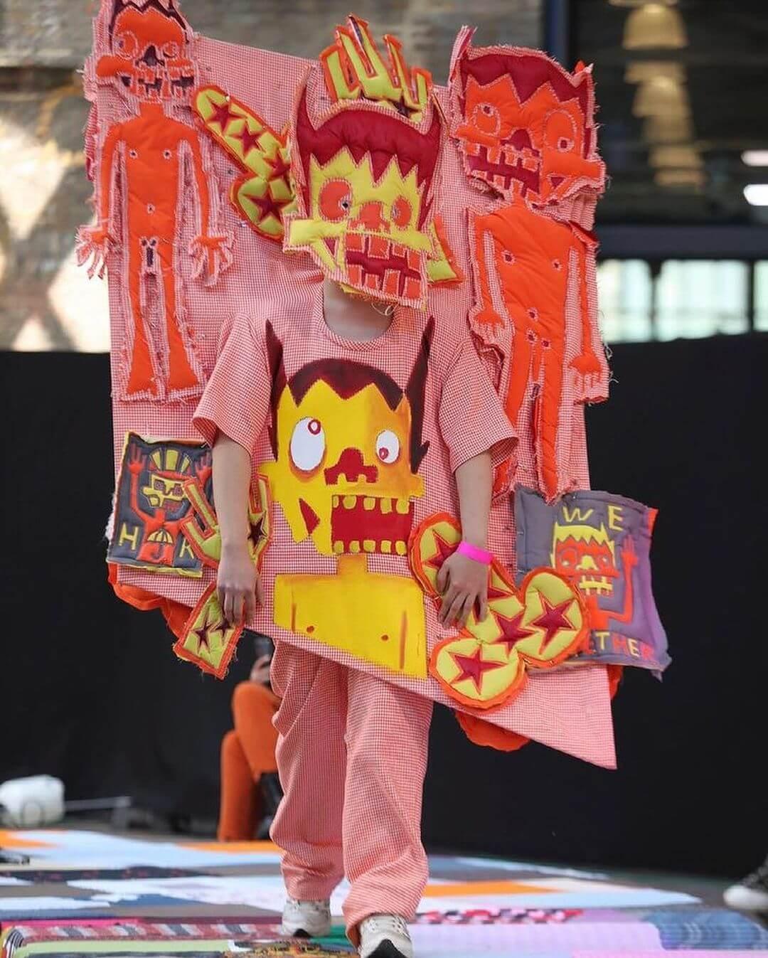 Esto fue lo mejor del desfile de modas de Central Saint Martins 2021