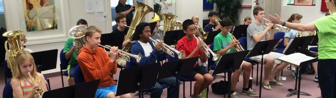 French Horn Class at International School of Music in Bethesda and Rockville