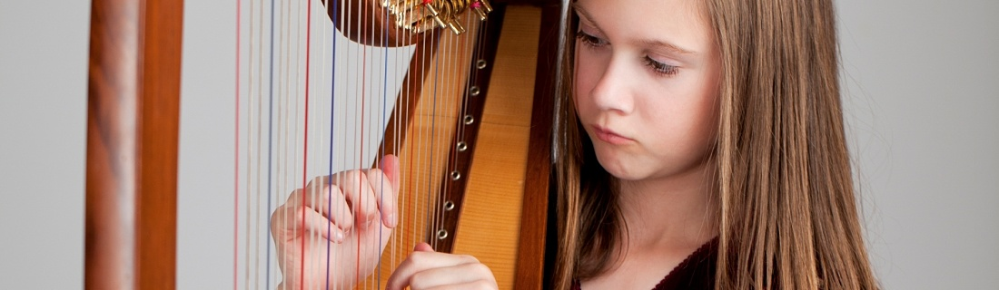Harp Lessons and Classes at International School of Music in Rockville and Potomac