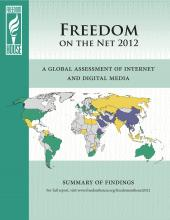 Freedom on the Net 2012