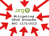Mitigating DDoS Attacks 12/5/2012
