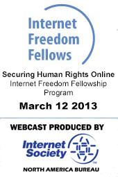 Internet Freedom Fellows 2013