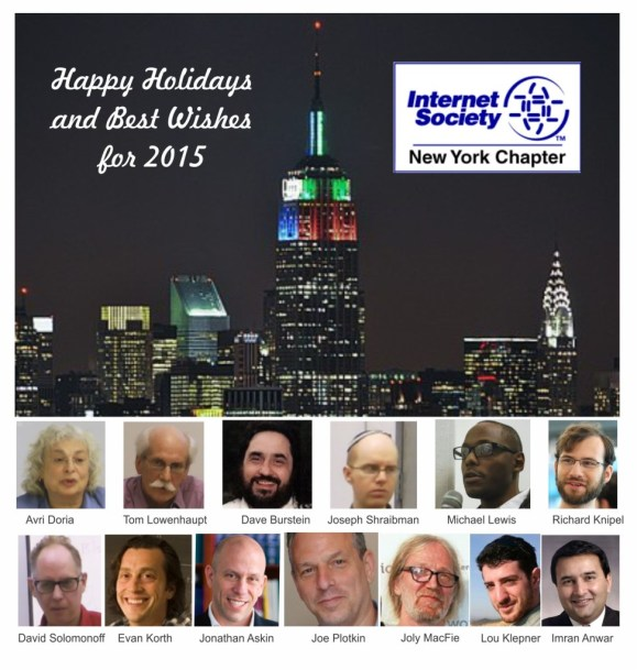 Happy Holidays from ISOC-NY
