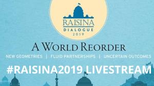 #RAISINA2019 LIVESTREAM