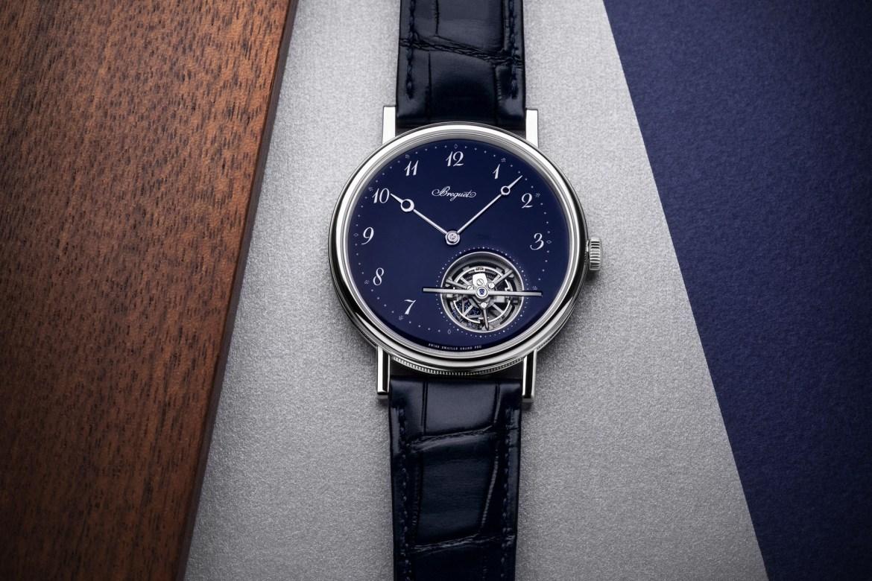 Breguet Classique Tourbillon Extra - Plat 5367 -Blue dial