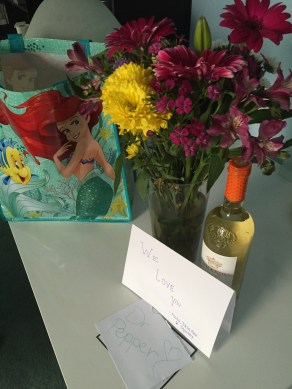 The super sweet Congrats gifts from my friends