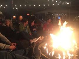 A night around the bonfire