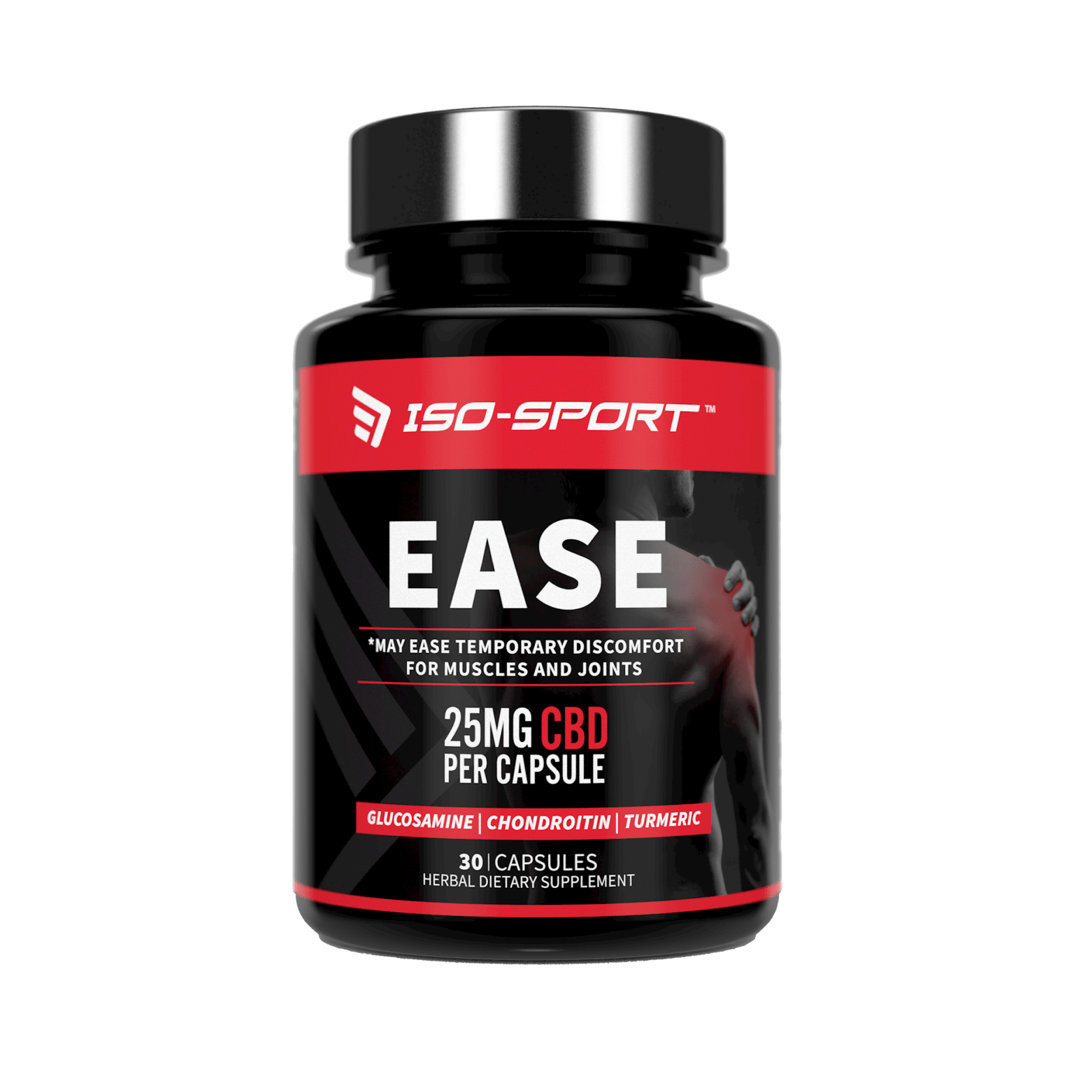 Iso-Sport Ease CBD Pain Relief Capsules