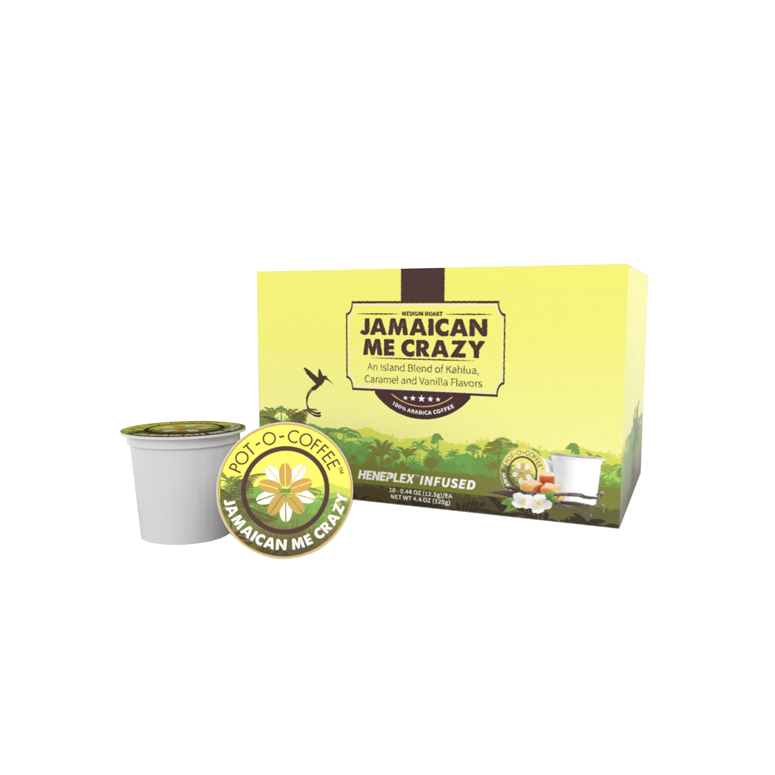 Pot-O-Coffee Jamaican Me Crazy – K-Cup