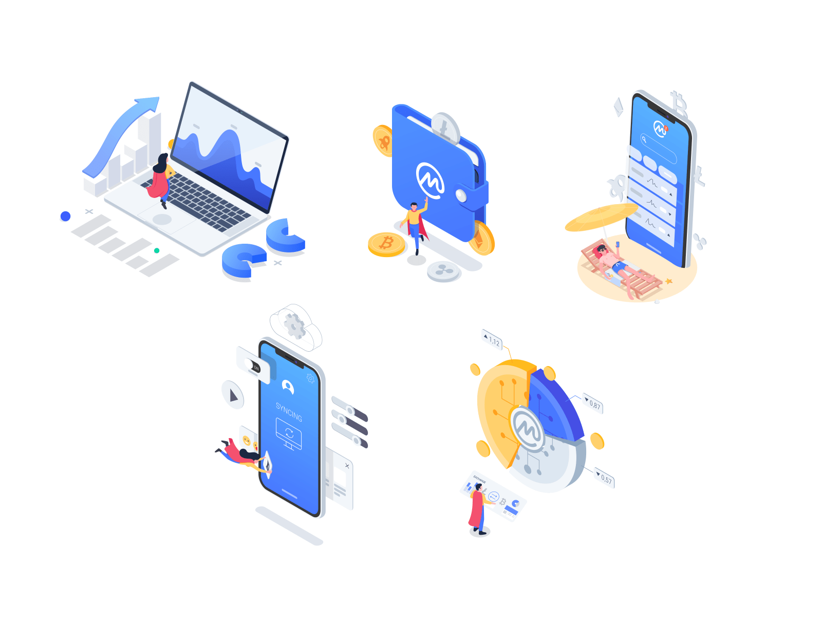 Coin Market Cap illustration