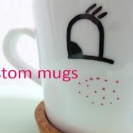 Diy #7 Custom mugs