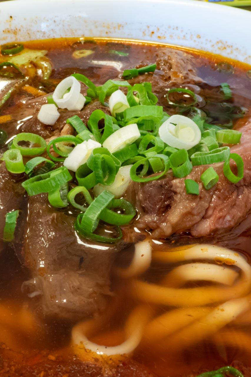 精誠牛肉麺館 麻辣牛肉麺