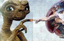 extraterrestres e Michelangelo