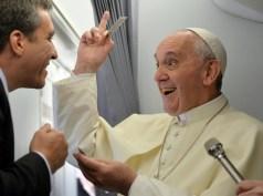 Pope, Francis venerunt in Brazil,