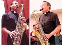 maradiaga col saxofón