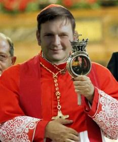 Sepe ostendit cardinalis Crescenzo altare in cathedrali basilica Conquiescamus