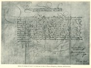 Luther sommation lettre de Charles V