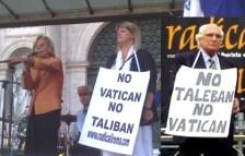 sin ningún Vaticano talibanes