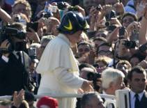 Papst: Die breite Masse