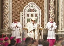 Papa no trono