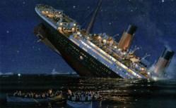 titanic affondamento