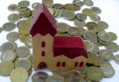 l'argent de l'église allemande