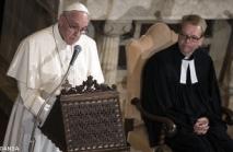 Pope visit luterani 1