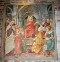 Milán - S. Ambrogio - Tesoro - escuela Bergognone