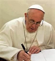 Papst Unterschrift