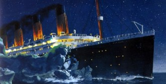 towards titanic iceberg 2