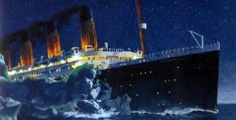 in Richtung titanic Eisberg 2