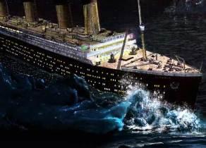 towards titanic iceberg 4