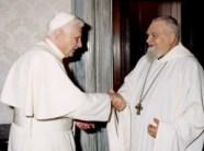 Enzo Bianchi avec Benoît XVI