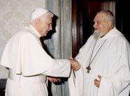 Enzo Bianchi with Benedict XVI