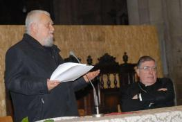 Enzo Bianchi in arezzo Kathedrale