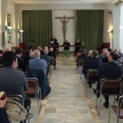 Enzo Blanc prêche prêtres sienna