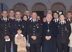 Carabinieri arcivescovo visita pastorale-001